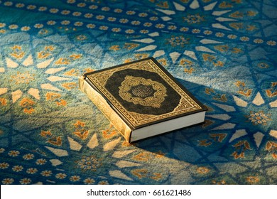 Quran - holy book of Muslims, in the mosque