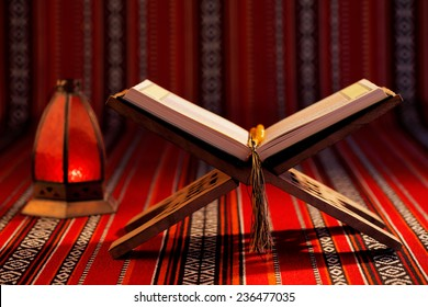 "The Quran literally meaning ""the recitation"", is the central religious text of Islam, which Muslims believe to be a revelation from God or Allah"