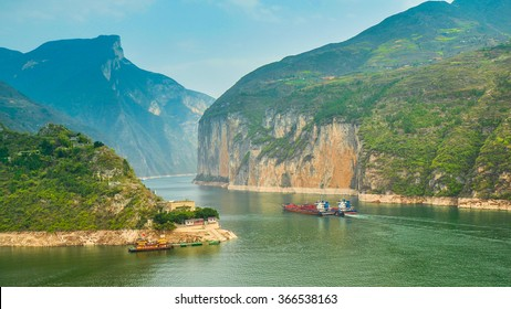 Qutang Gorge, Most Beautiful Gorge in China.