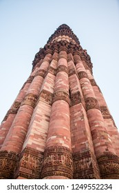 Qutb Minar, is the tallest minaret in the world made up of bricks. The minaret forms a part of the Qutab complex, a UNESCO World Heritage Site in the Mehrauli area of Delhi, India.