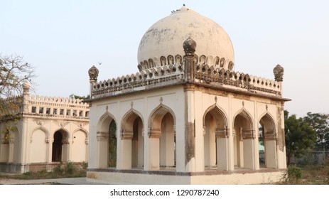 Qutb Shahi Tombs, famously called as 7 Tombs, near Golconda, Hyderabad.