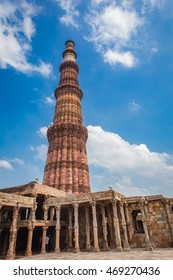 Qutub Minar is a 73 m-high tower of victory, built in 1193 by Qutab-ud-din Aibak immediately after the defeat of Delhi's last Hindu kingdom. Qutub Minar is a UNESCO World Heritage Site.