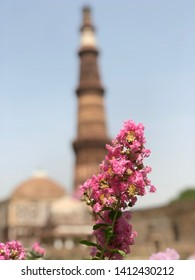 The Qutub Minar, also spelled as Qutab Minar, is a minaret that forms part of the Qutb complex, a UNESCO World Heritage Site in the Mehrauli area of Delhi, India. Qutb Minar is a 73-metre tall .