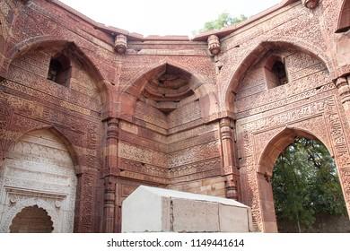 Qutub Minar, also spelled as Qutab Minar, or Qutb Minar. The tallest minaret in India - Delhi