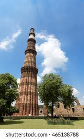 Qutub Minar, The Tallest Brick Minaret in the world.