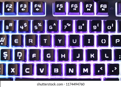 Qwerty Backlight Keyboard