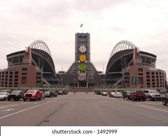 Qwest Field, Seattle - home of the Seattle Seahawks