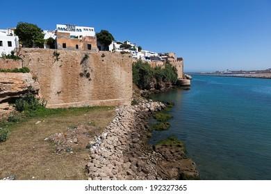 Rabat. Morocco. Andalusian wall.