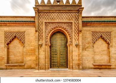 Rabat's Hassan Tower and Mosque grounds
