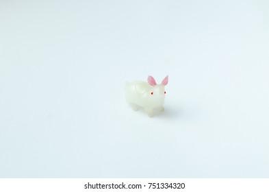 Rabbit toy isolate