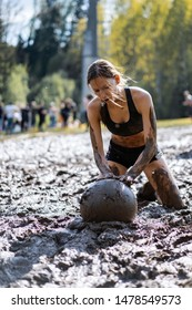 Race - Obstacle Race, Sports Competition, Belarus, May 2019