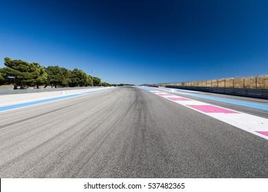Race Track. Circuit