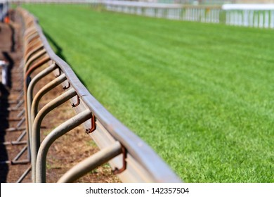 Race Track showing running rail