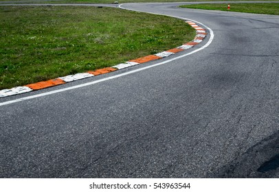 race track sports track turn