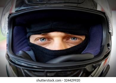 Racer. Racing driver