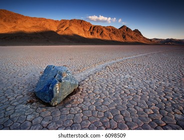 The Racetrack at Death Valley National Park