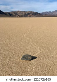 Racetrack Playa, scenic dry lake, Death Valley National Park, California, USA