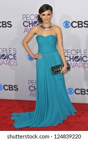 Rachael Leigh Cook at the People's Choice Awards 2013 at the Nokia Theatre L.A. Live. January 9, 2013  Los Angeles, CA Picture: Paul Smith