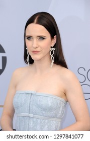 Rachel Brosnahan at the 25th Annual Screen Actors Guild Awards held at the Shrine Auditorium in Los Angeles, USA on January 27, 2019.