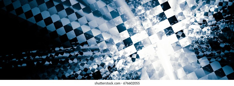Racing abstract background. It contains elements of the Racing checkered flag, suitable for design of the categories of speed, rally, sports. Race texture