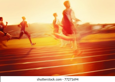 Racing into the sun