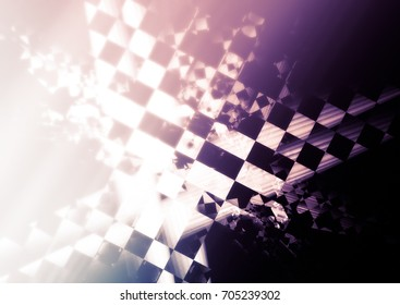 racing unusual background. Mysterious abstract texture