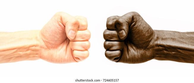 Racism. Interracial feuds.
