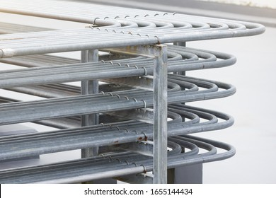 Rack of the electrical conduits