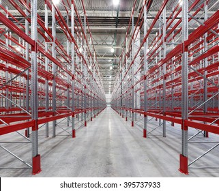 Racks pallets shelves