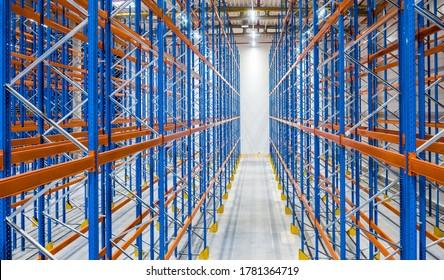 racks - storage warehouse - new logistics center