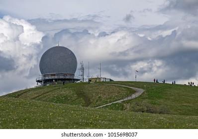 Radar dome, Germany