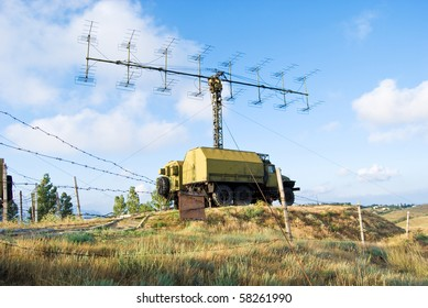 radar on military base