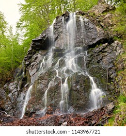 Radau waterfall near Bad Harzburg in the Harz National Park