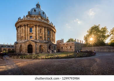 Radcliffe Camera, Bodleian Library, Oxford University, Oxford, Oxfordshire, England, United Kingdom - November 26,2018