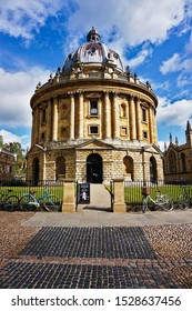 Radcliffe Camera, Bodleian Library of Oxford University, Oxford, United Kingdom. Photo was taken on 05/06/2019