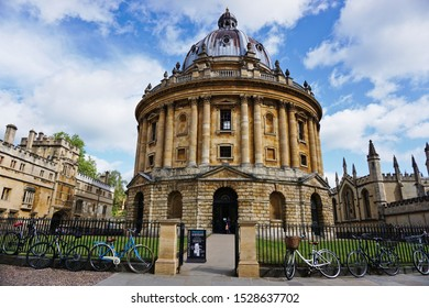 Radcliffe Camera, Bodleian Library of Oxford University, Oxford United Kingdom. Photo was taken on 05/06/2019