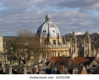 Radcliffe camera at the Bodleian Library in Oxford (Oxford University)