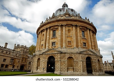 Radcliffe Camera building, Oxford, UK
