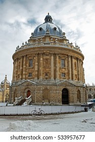 Radcliffe Camera building, Oxford, UK