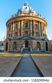 The Radcliffe Camera, an old historic building in Oxford, England