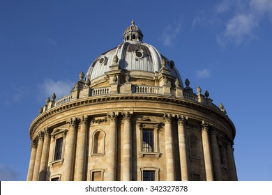 Radcliffe Camera on a sunny day at Oxford University, United Kingdom