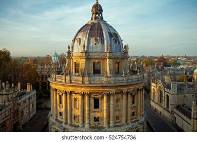 Radcliffe Camera, Oxford University, Oxford, UK