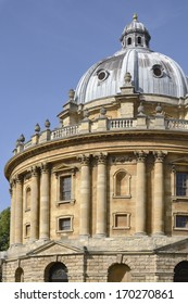 Radcliffe Camera in Radcliffe Square. Oxford. England. Reading room for the Bodleian Library