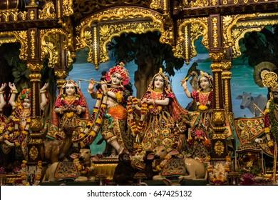 radha krishna most beautiful decoration
