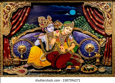 radha krishna wall mural painting 260nw 1587396271