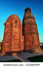 Radha Madan Mohan Temple in the holy city of Vrindavan. India.