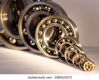 radial bearings with natural light
