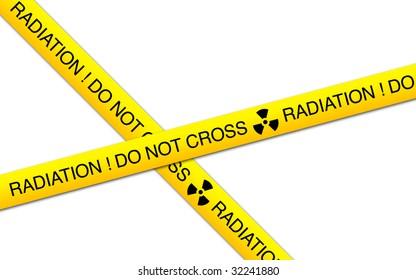 radiation line do not cross