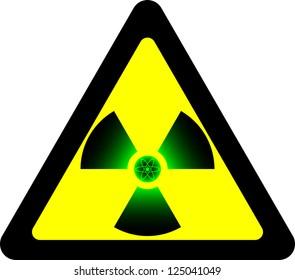 radiation. raster variant