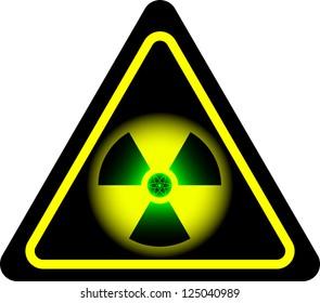 radiation. second variant. raster variant